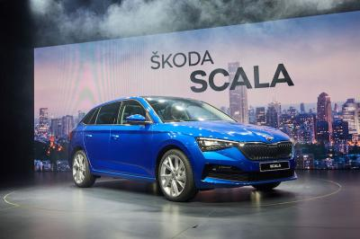 Skoda Scala | les photos officielles de la compact