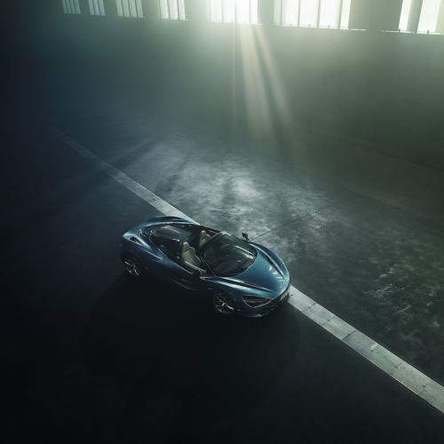 McLaren 720S Spider   les photos officielles de la Supercar