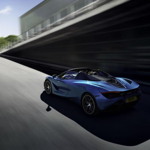 McLaren 720S Spider | les photos officielles de la Supercar