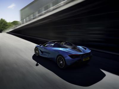 McLaren 720S Spider | les photos officielles de la Supercar