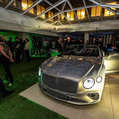 Nouvelle Bentley Continental GT Convertible