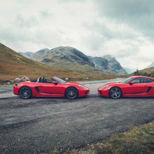Porsche 718 T | les photos officielles du Boxster et du Cayman
