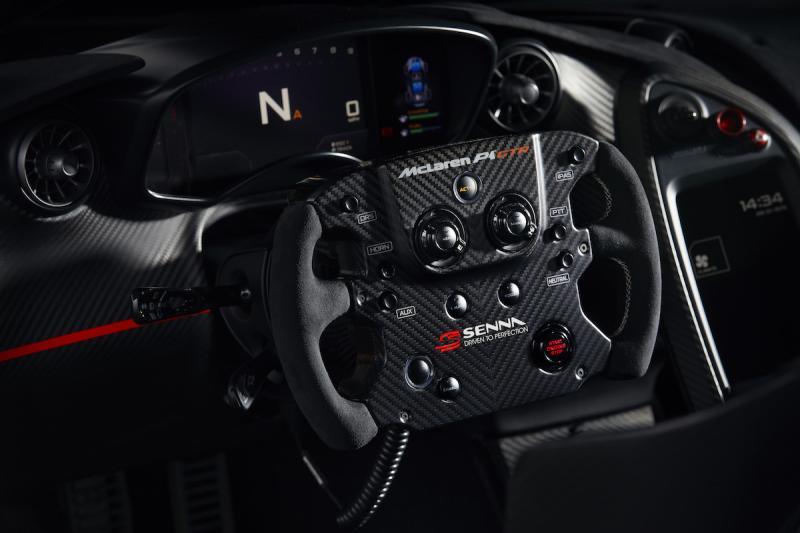 McLaren P1 GTR | les photos officielles de l'hypercar hommage à Ayrton Senna