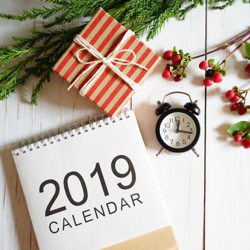 2019   l'agenda de l'année