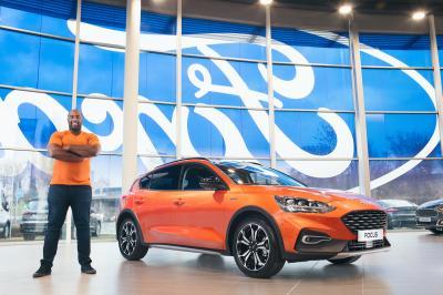 Teddy Riner, nouvel ambassadeur de Ford | les photos officielles
