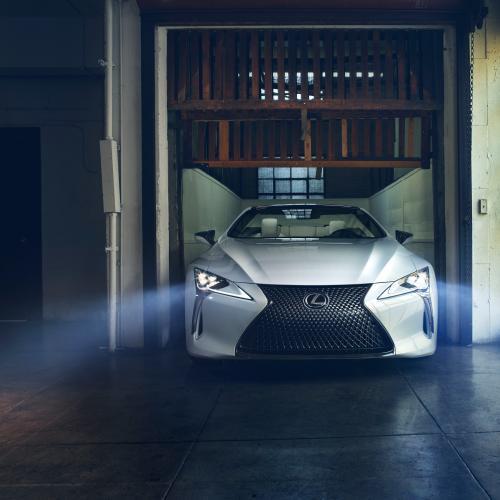 Lexus LC Convertible | les photos officielles du concept