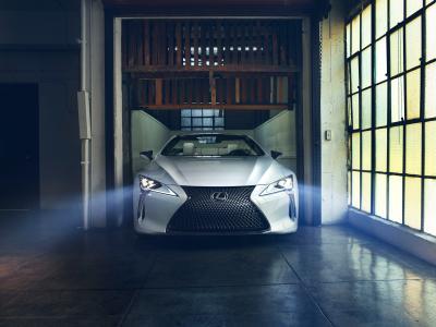 Lexus LC Convertible   les photos officielles du concept