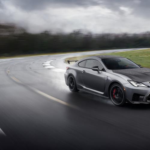 Lexus RC F Track Edition | les photos officielles du coupé sportif