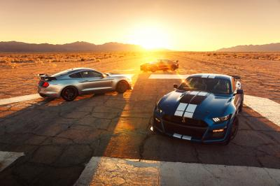 Ford Mustang | les photos officielles de la Shelby GT 500
