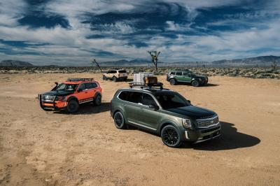 Kia Telluride | les photos officielles du SUV