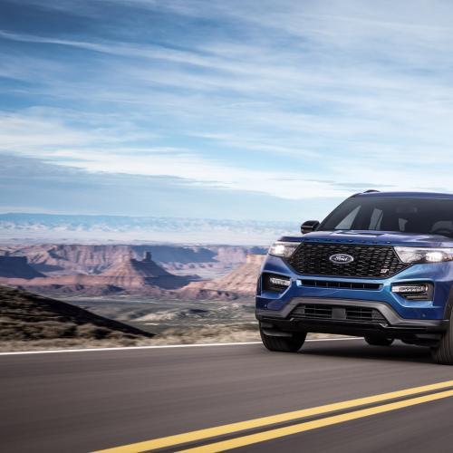 Ford Explorer ST 2020   les photos officielles du SUV sportif
