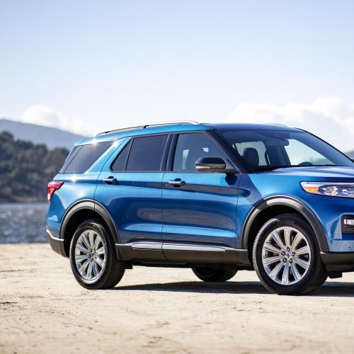 Ford Explorer Hybride | les photos officielles du SUV