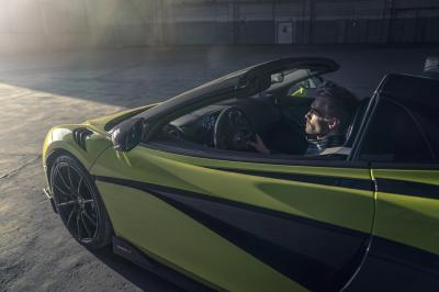 McLaren 600LT Spider | les photos officielles