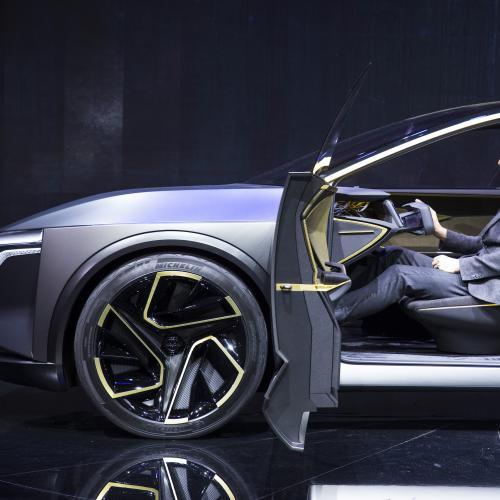 Nissan IMs | les photos officielles du concept de berline autonome et électrique