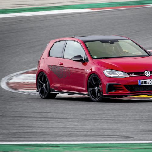 Volkswagen Golf GTI TCR | les photos officielles de l'essai à Faro (Portugal)