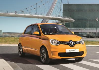 Renault Twingo | les photos officielles du restylage