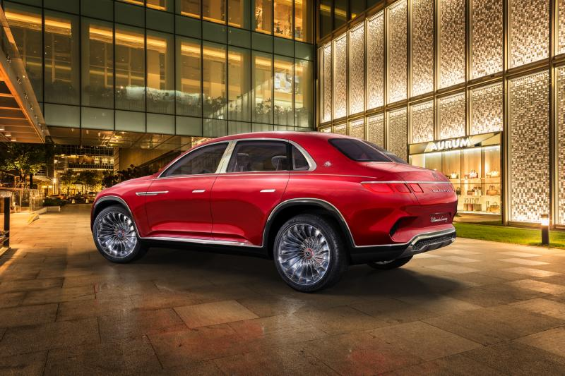 Mercedes-Benz Maybach Vision Ultimate Luxury