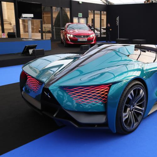 DS X E-Tense | nos photos au Festival International Automobile 2019