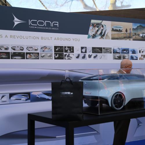 Exposition Icona | nos photos au Festival Automobile International