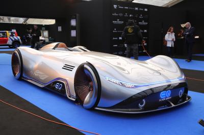 Mercedes EQ Silver Arrow | nos photos au Festival Automobile International
