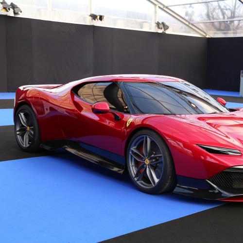Ferrari SP 38 | nos photos au Festival Automobile International