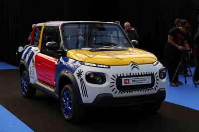 Citroën e-Mehari JCC | nos photos au Festival Automobile International