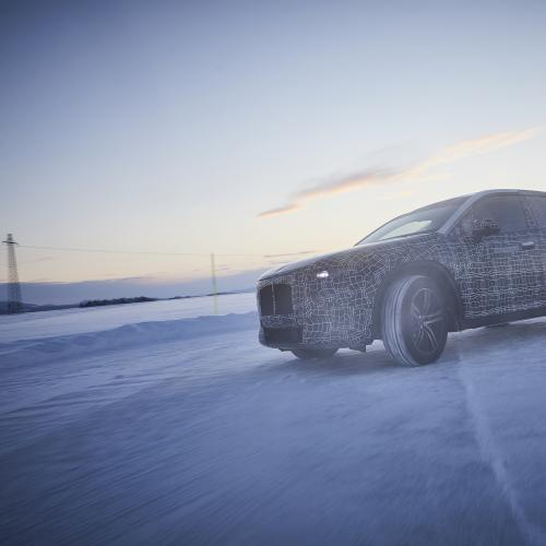 BMW iNext | les photos des essais hivernaux 2019