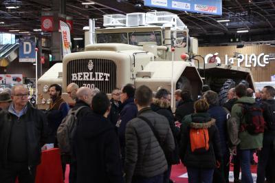 Rétromobile 2019   nos photos du camion Berliet T100