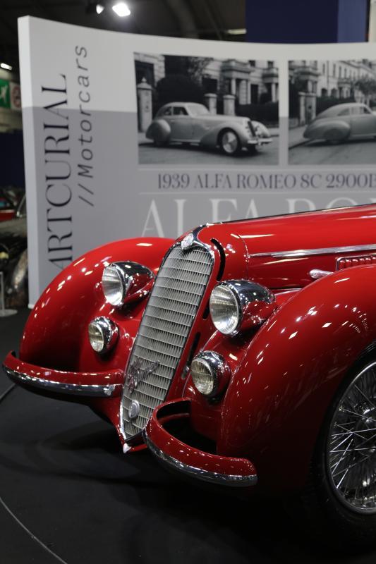Rétromobile 2019 - Artcurial | nos photos de l'Alfa Romeo 8C 2900 B