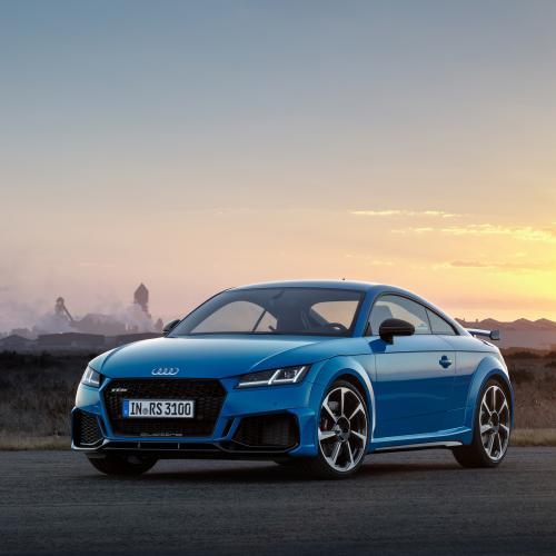 Audi TT RS restylée | les photos officielles