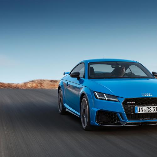 Audi TT RS restylée | les photos officielles de la version Coupé