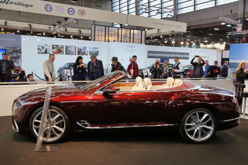 Rétromobile 2019 | nos photos du stand Bentley