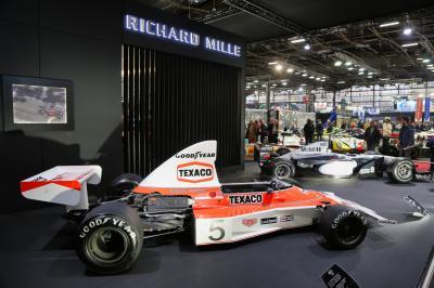Rétromobile 2019 | nos photos des McLaren exposés sur le stand Richard Mille