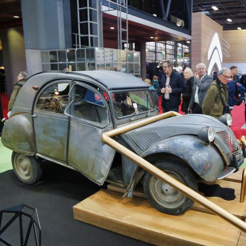 Rétromobile 2019 | nos photos de la 2CV