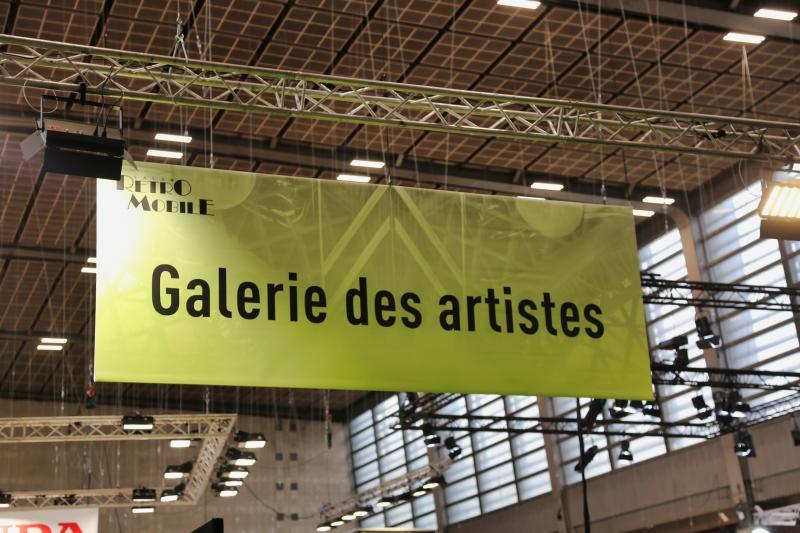 Rétromobile 2019 | nos photos de la Galerie des Artistes