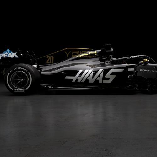 Haas F1 | les photos officielle de la monoplace de Romain Grosjean