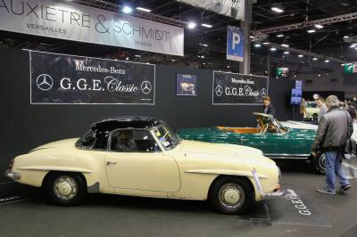 Rétromobile 2019 | nos photos du stand Mercedes