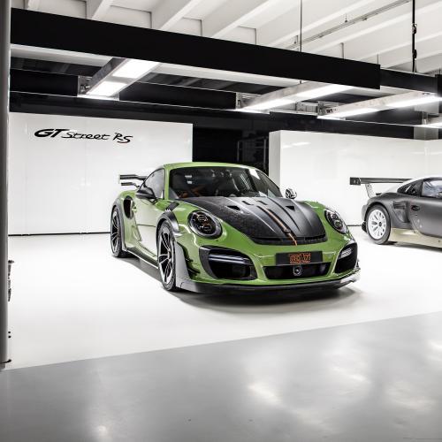 Porsche GTstreet RS TECHART   La Porsche 911 Turbo S préparée