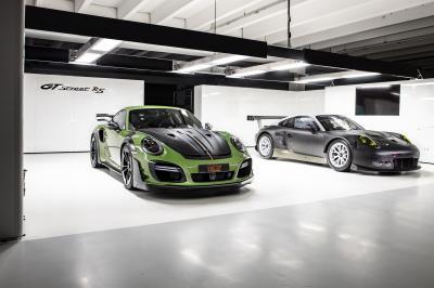 Porsche GTstreet RS TECHART | La Porsche 911 Turbo S préparée