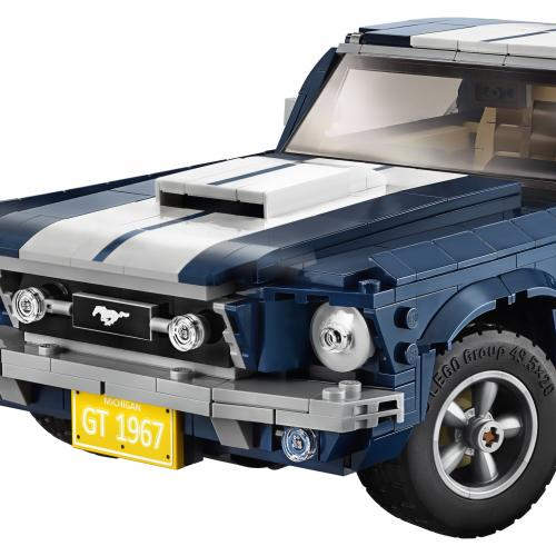 Ford Mustang | les photos de la version 1967 en Lego