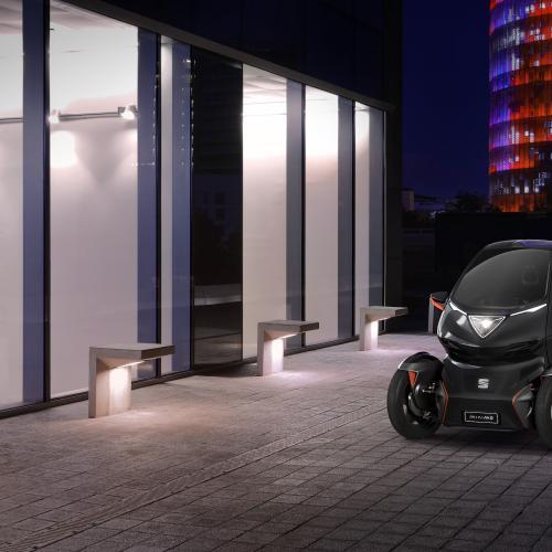 Seat Minimo | les photos officielles de la voiture électrique et autonome