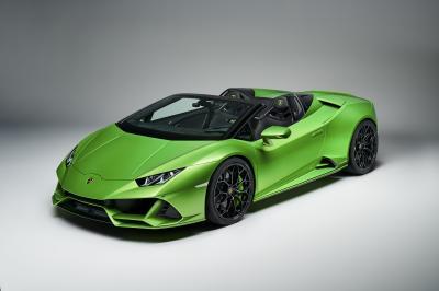 Lamborghini Huracan Evo Spyder | les photos officielles de la supercar