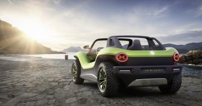 Volkswagen ID Buggy | les photos officielles du concept de buggy électrique