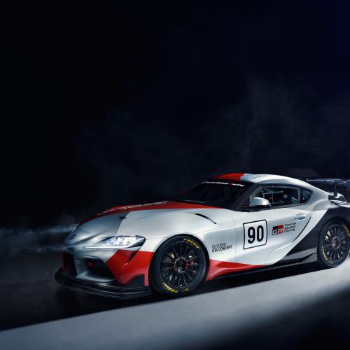 Toyota GR Supra GT4   les photos officielles du concept