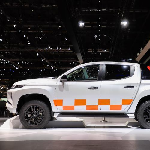 Mitsubishi L200 | nos photos du pick up au salon de Genève 2019