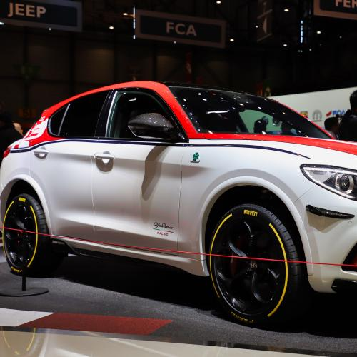Alfa Romeo Stelvio Racing | nos photos au salon de Genève 2019