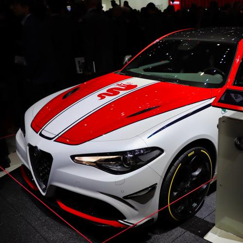 Alfa Romeo Giulia Racing | nos photos au salon de Genève 2019