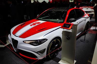 Alfa Romeo Giulia Racing | nos photos au salon de Genève 2019