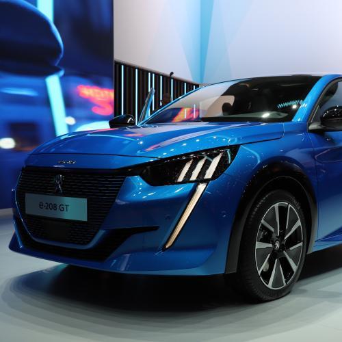 Peugeot e-208 | nos photos de la citadine électrique au salon de Genève 2019