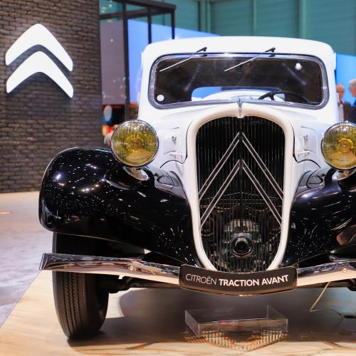 Citroën Traction | nos photos au salon de Genève 2019